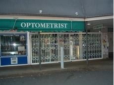 ATDC has installed its security doors and security shutters at many high profile eyewear and optometrist stores