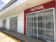 Commercial grade security doors from ATDC at TK Maxx's store in Oxley