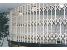 Curved Security Screen from The Australian Trellis Door Company
