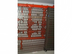 Expanding security barriers from The Australian Trellis Door Company for the mining industry