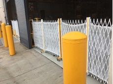 ATDC safety barriers at LVMH's Sydney warehouse