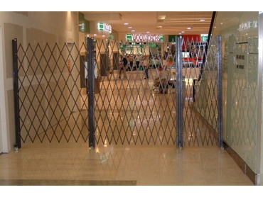Mobile Trackless Barrier Systems from The Australian Trellis Door Company & Mobile Trackless Barrier Systems from The Australian Trellis Door ...