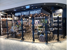 ATDC successfully installed their OH&S safety tested movable security screens at the Collections and Perth Street Markets tenancies