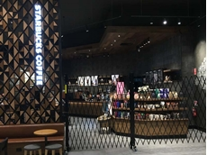Starbucks store in Ringwood, Melbourne featuring ATDC's portable barricades