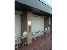 Permashield roller shutters available from The Australian Trellis Door Company