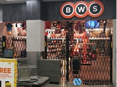 A recent installation at a new BWS store in Chadstone, Victoria