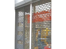 RS 8 economy roller grilles available from The Australian Trellis Door Company