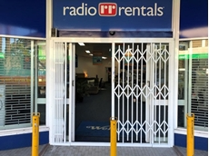 Radio Rentals relying on ATDC's security doors to protect stores and merchandise