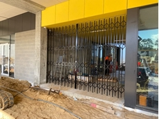 Retractable security doors and shutters for educational facilities