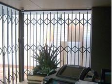 S06 Trellis Door, expanding steel trellises from The Australian Trellis Door Company