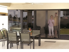 STS stainless steel security mesh doors and screens stocked by The Australian Trellis Door Company