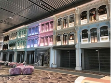 ATDC's security grilles needed to complement the heritage facade as well as enhance the contemporary Asian theme at Changi Airport