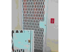 Steel expanding grilles from The Australian Trellis Door Company