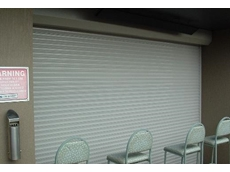 Steel trellis from The Australian Trellis Door Company perfect for securing shop fronts