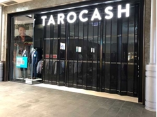 Tarocash at Westfield Miranda secured with ATDC's foldaway door closures