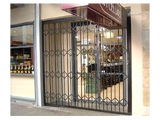 Range of economical, expanding trellis door and barrier solutions
