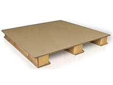 Cardboard pallets available from The Cardboard Pallet Company