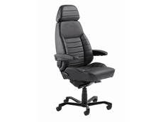 KAB executive chairs can be upgraded to 24 hour drafting chairs
