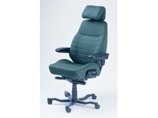 The Kab Controller Chair is a heavy duty 24 hour chair ideal for use in the mining industry