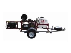 SPARTAN 738 trailer jetter