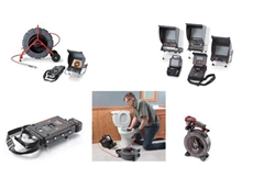 Ridgid range of drain cameras and locating equipment