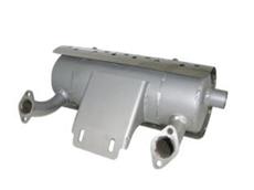 Stainless steel Honda muffler