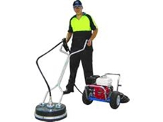The Whirlaway Path Cleaner high pressure cleaner.