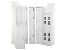 Brownbuilt storage lockers from The OFS Group