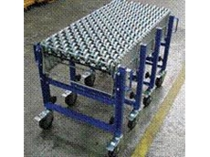Expandable conveyor skate and roller model