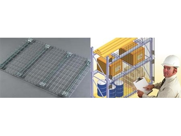 Mantamesh And Monkeymesh Pallet Racking Accessories From