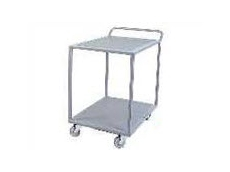 The TS2A Team Star goods trolley has two tiers