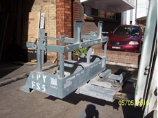 Forklift Wheelie Bin Tipper
