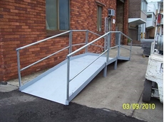 Pedestrian Access Ramp