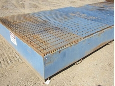 Clients can minimise risk by using spill bunding and containment tanks from The Plant Yard