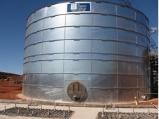 Tasman Tank Installed at Cloudbreak, Pilbara