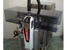 Stand alone mobile laser coding and marking system