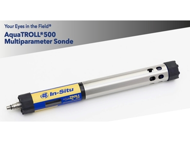 Multiparameter Sondes- Fully Customisable ideal for groundwater and surface water monitoring