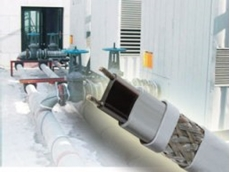 FLX for pipe freeze protection self-regulating heating cables