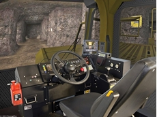 A ThoroughTec CAT mining simulator