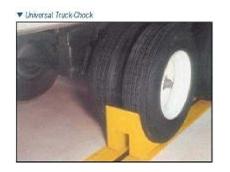 Auto Universal Chock automatic wheel chocking system.