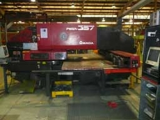 Amada Pega 357 turret punch press