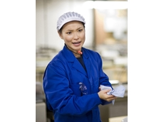 TorkMatic Blue Hand Towel is easily identified and helps with food safety