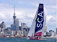 Team SCA (supported by Tork) wins the In-Port Race in Auckland Harbour