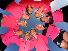 Team SCA, an all-female team supported by Tork