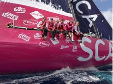 Tork supports Team SCA at the Volvo Ocean Race
