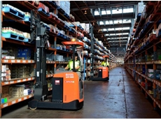 Toyota Material Handling reach trucks and gas-powered forklift trucks