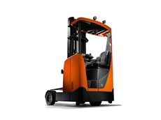 TMHA's new BT Reflex O-Series Reach Truck is specifically designed to operate on outdoor surfaces