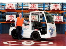 Toyota Electric Towing Tractors