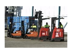 Toyota Material Handling's forklifts