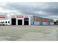 Toyota Materials Handling's new forklift branch in Tasmania